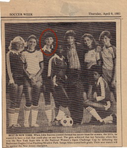 SST,s Best In NY April 9 1981 Soccer Week