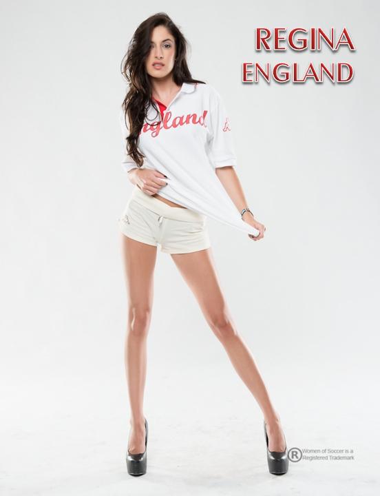 DECEMBER Regina - Representing England