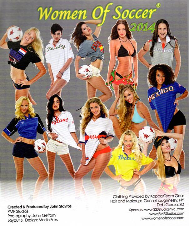 Women of Soccer group