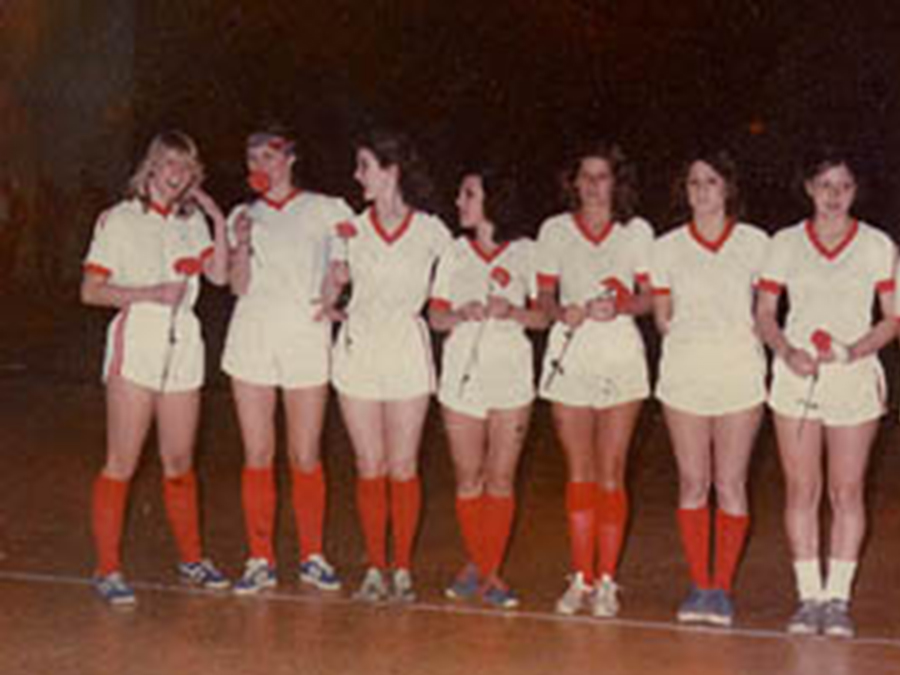 SST's 1st Game verses Budweiser Eagles at Pratt Institute 1977- 1