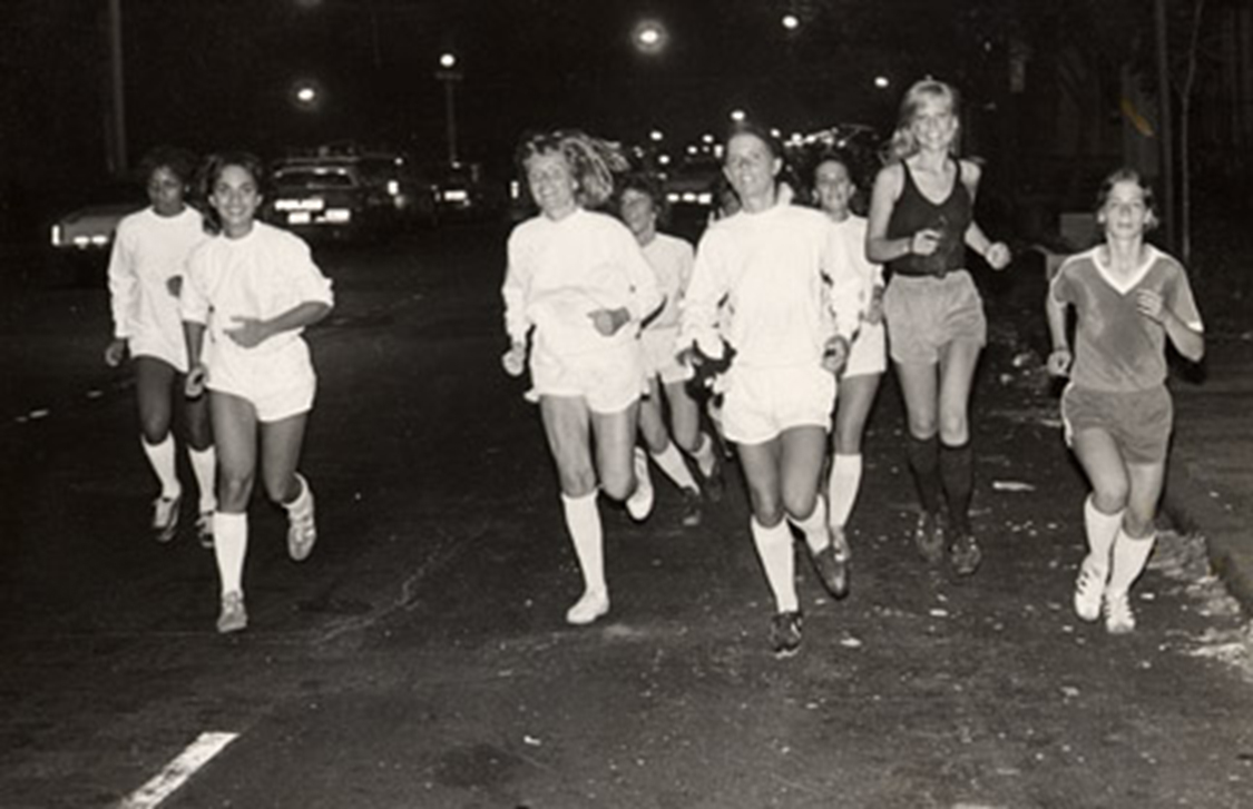 SST's Training… Running on Park Avenue on 68th street back to Hunter College 1978- 3